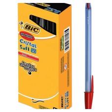 خودکار بیک کریستال سافت یک ودو دهم قرمز